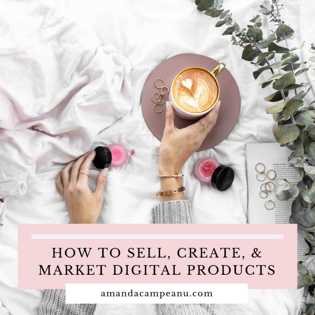 How to create, sell and market digital products
